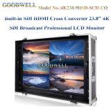 "Sdi HDMI 변환기 23.8 "" 4k TFT LCD에서 건축하는"