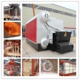 10-12ton caldeira de vapor despedida pelota da biomassa da pressão da capacidade 10-13bar