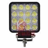 48W LED del trabajo de alta calidad, garantía de 2 años