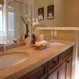 Corian Double Sink Vanity Vanities Top con Sink