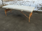 La Tabella di legno di massaggio, massaggio della base di massaggio si corica Mt-003