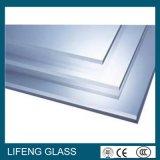 平らなか曲げられた透過か灰色の絶縁された低いEガラス