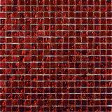 목욕탕을%s 도매 빨간색 수정같은 유리 모자이크