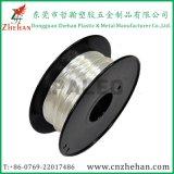 Schwarze Plastikseide der spulen-ABS/PLA mögen Plastik-Zusammensetzung-Heizfäden