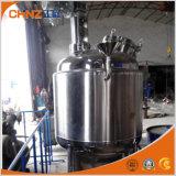Bidon de mélange revêtu de double d'acier inoxydable