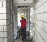 機械を塗る乳鉢の壁のスプレーヤー