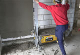 パテ乳鉢のための壁プラスター噴霧機械