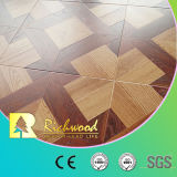12.3mm Embossed Laminated Parquet Cherry Vinyl Waxed Edged Laminate Floor