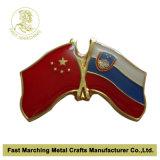 Insigne fait sur commande de Pin de revers de drapeau