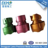 Precisie CNC Aluminum Lathe Parts met Colorful Anodizing (0523C)