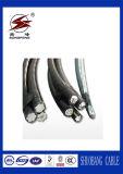 Надземное применение и никакие кабель ABC двойного кабеля куртки