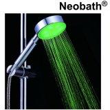 Chuveiro mudado cor da mão do diodo emissor de luz do banheiro do sensor da água