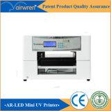 Impresora de cristal ULTRAVIOLETA automática para la impresión AR-LED Mini4 de la botella de vino