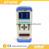 Registador de dados brandnew da temperatura com 8 canaletas (AT4208)