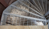 주거 Steel Stairs Treads Grating 또는 Professional Grating Manufacturer