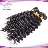 Cabelo humano do Virgin por atacado não processado para o cabelo Curly frouxo brasileiro do Weave