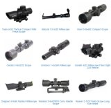 Alcances de Riflescopes óptico del primer plano focal