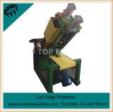 Máquina de perfuração redonda do envoltório de papel para o protetor de borda