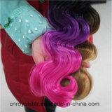 新しいデザイン総合的な毛Weftボディ波のHiarの人間の毛髪