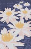 はすの花のガラスモザイク(PT008)の素晴らしい絵画