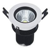 Luz de techo de la MAZORCA LED del LED Downlight 7W