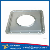 Pièces personnalisées par métal d'étirage profond de qualité d'Aluminu/Brasss