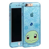 2 in 1 vorderem u. rückseitigem Pokemon gehen Telefon-Kasten