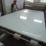 Kkr High Quanlity Big Slab Carrara Quartz Slab