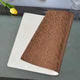 Lederne übergrosse doppelte seitliche Gebrauch-Küche Brown Placemats