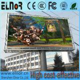 Cartelera al aire libre de la consumición P10 LED de las energías bajas