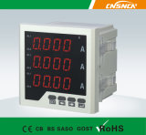 Courant alternatif Three-Phase Digital Ampere Meter d'écran LCD de la taille 72*72mm Factory Price, pour Industrial Use