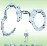 Полиции стали/нержавеющей стали углерода надевают наручники для сбывания
