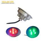 옥외 18PCS/24PCS 고성능 RGB IP68 LED 수중 샘 조경 빛