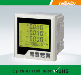 E2 Hot Sale Low Price Panel Size 120*120mm Single Phase Digital Display Multifunction Meter, for Distribution Box