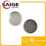 bolas de metal micro del acero inoxidable del diámetro de 1m m