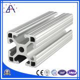 고품질 6063-T5 생산 라인과 기계 프레임 단면도 알루미늄