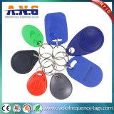 Высокотемпературный ABS RFID Keyfob Esistance Ultralight для ключа личности