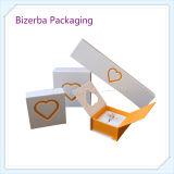 Caixa de presente de papel rígida profissional da embalagem da jóia para empacotar