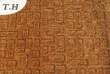 Il Chenille 2016 ha impresso fatto nel tessuto della mobilia del tessuto del sofà del Brown