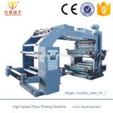 Impresora grande multicolora de Flexo del papel de rodillo del rodillo de cerámica