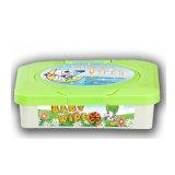 Einzelne Verpackungs-Baby-Reinigungs-Wischer der Verpackungs-72PCS