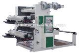 Plastique de presse/papier flexible/machine d'impression tissée de couleur du tissu deux