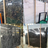 Dark Polished Emperador Marble Slab pour Floor Tiles