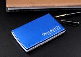 Caricatore portatile della cassa del metallo di capacità elevata 10000mAh con piena capacità