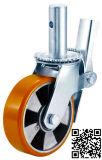 Baugerüst PU auf Aluminum Caster Wheel