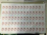Production futée de feuille de marqueterie de Prelam de carte principale de proximité passive