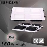 36W LED 세륨과 RoHS 2*2 LED 빛을%s 가진 가벼운 위원회 전등 설비 SMD 석쇠 빛