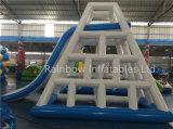 タワーに上る中国人の子供のゲームは商業用等級販売の大人のための巨大で膨脹可能な水スライドを滑らせる
