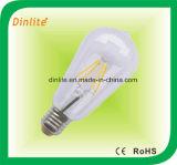 St-64 borran el bulbo blanco del filamento de la helada LED
