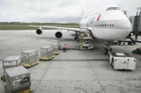 Servicio aéreo, carga aérea de China a Kinshasa, Fih África